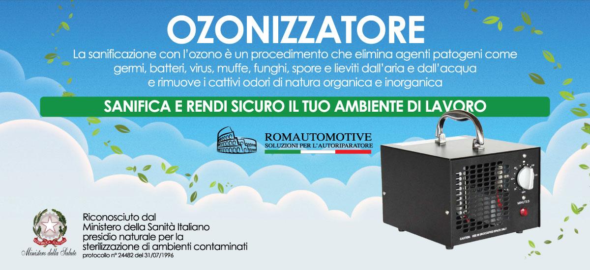 Ozonizzatore - Sanifica e rendi sicuro il tuo ambiente di lavoro